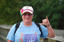 KAREN, AT CHALLENGE WALK MS IN 2015